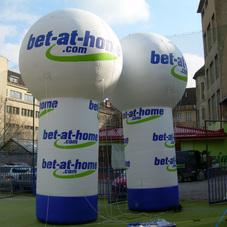 Nafukovací koule bet-at-home.com