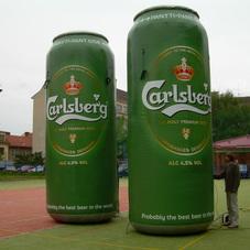 Nafukovací plechovka Carlsberg