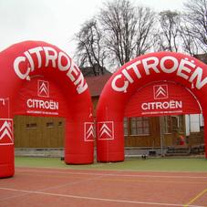 Nafukovací oblouky Citroën