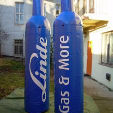 Nafukovací plynové lahve Linde