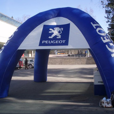 Nafukovací stan Peugeot