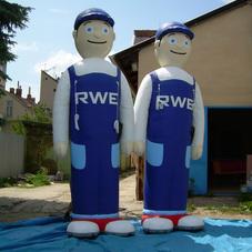 Nafukovací maskoti RWE