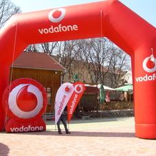 Nafukovací loga Vodafone