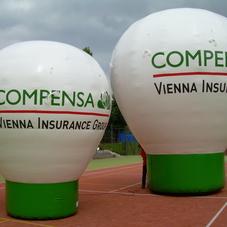 Nafukovací balón Compensa
