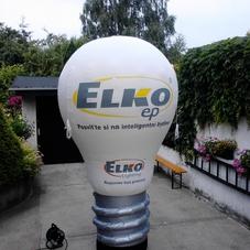 Nafukovací žárovka Elko