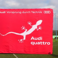 Nafukovací kvádr Audi