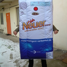 Nafukovací kostým termostat