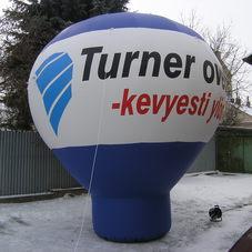 Nafukovací balón Turner