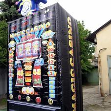 Nafukovací hrací automat