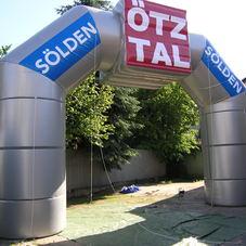 Nafukovací oblouk Otztal