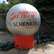 Nafukovací koule Ski Austria
