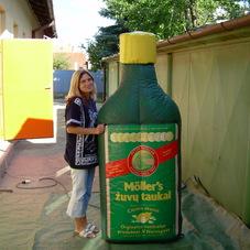 Nafukovací láhev Moller