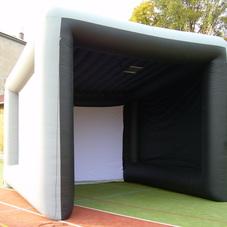 Nafukovací promítací stan pro golf