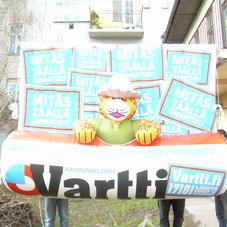 Nafukovací noviny Vartti