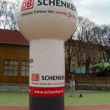 Nafukovací koule Schenker
