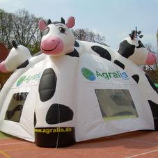 Nafukovací stan kráva