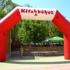 Nafukovací oblouk Kitzbuhel