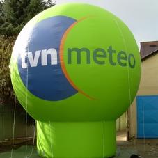 Nafukovací koule TVN
