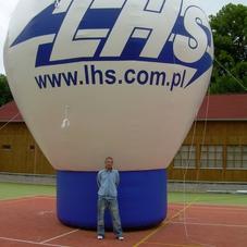Nafukovací balón LHS