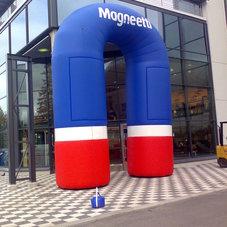 Nafukovací oblouk Magnetti