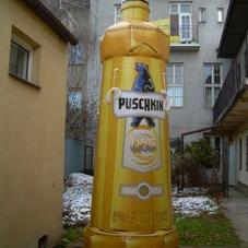 Nafukovací láhev Puschkin