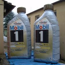 Nafukovací kanystry Mobil