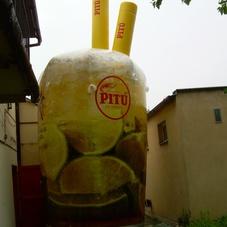 Nafukovací sklenice Pitu