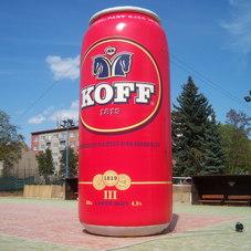 Nafukovací plechovky KOFF