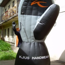 Nafukovací rukavice Kjus