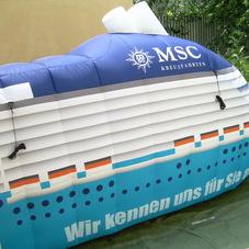 Nafukovací loď MSC