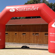 Nafukovací oblouk Santander