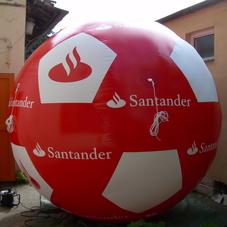 Nafukovací koule Santander