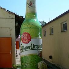 Nafukovací láhev Pilsner Urquell