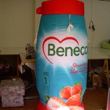 Nafukovací láhev Benecol