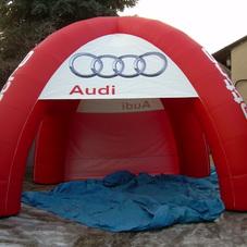 Nafukovací stan Audi