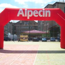 Nafukovací oblouk Alpecin