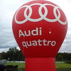 Nafukovací balón Audi