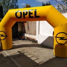 Nafukovací oblouk OPEL