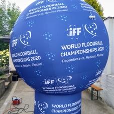 Nafukovací koule floorball IFF