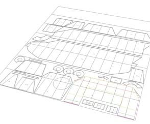 Výroba papírových šablon