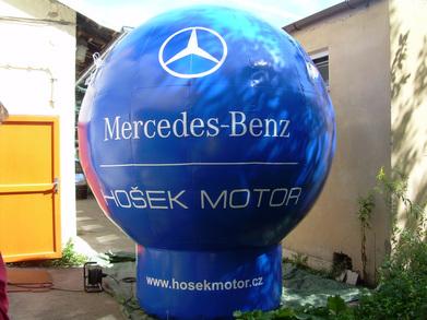 Nafukovací balón Mercedes-Benz