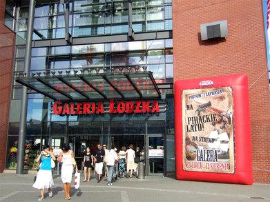 Nafukovací billboard Lodzka