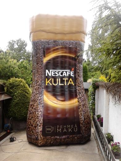 Nafukovací dóza Nescafé