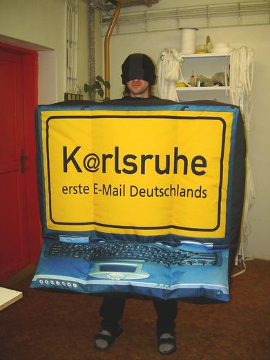Nafukovací kostým Karlsruhe