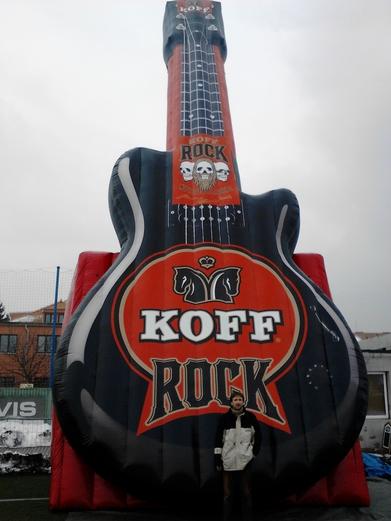 Nafukovací kytara KOFF