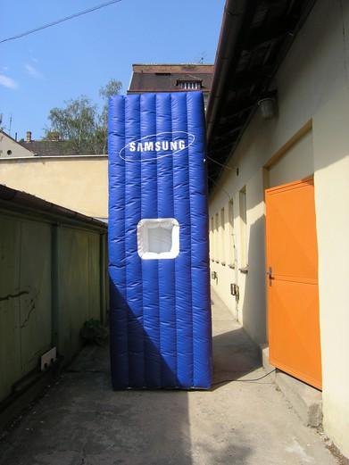 Nafukovací kvádr Samsung
