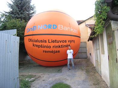 Nafukovací balóny DNB