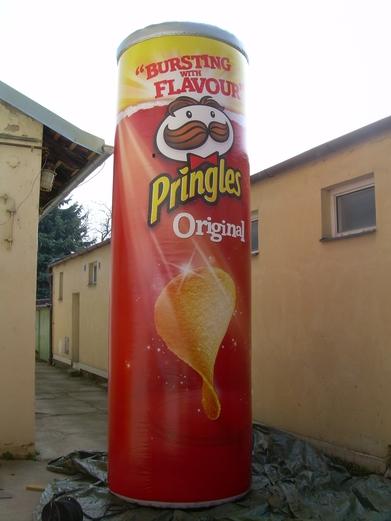 Digitální tisk Pringles