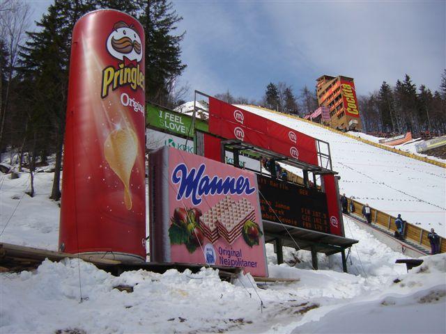 Air Shape na lyžích